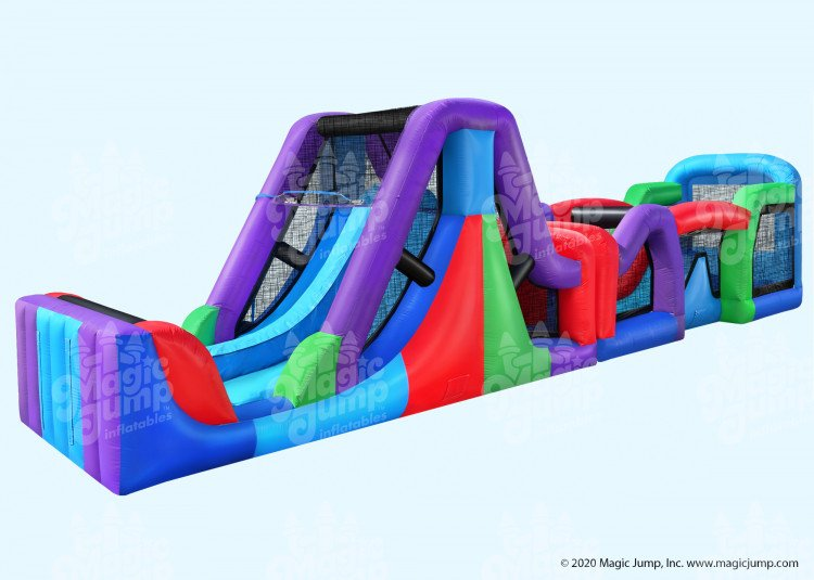 50 Fun Obstacle Course Wet